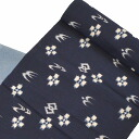 100% of recycling Hamamatsu cloth with splashed pattern はぎれ cloth with splashed pattern pattern piece-dyeing めはままつかすり indigo plant casual cotton 10cm cut selling (continued to 6m55cm) kka1791