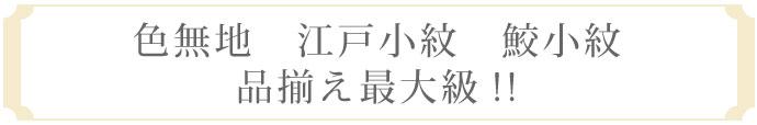 訪問着の取り揃え日本最大級