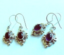 Tibet accessories silver pierced earrings 115