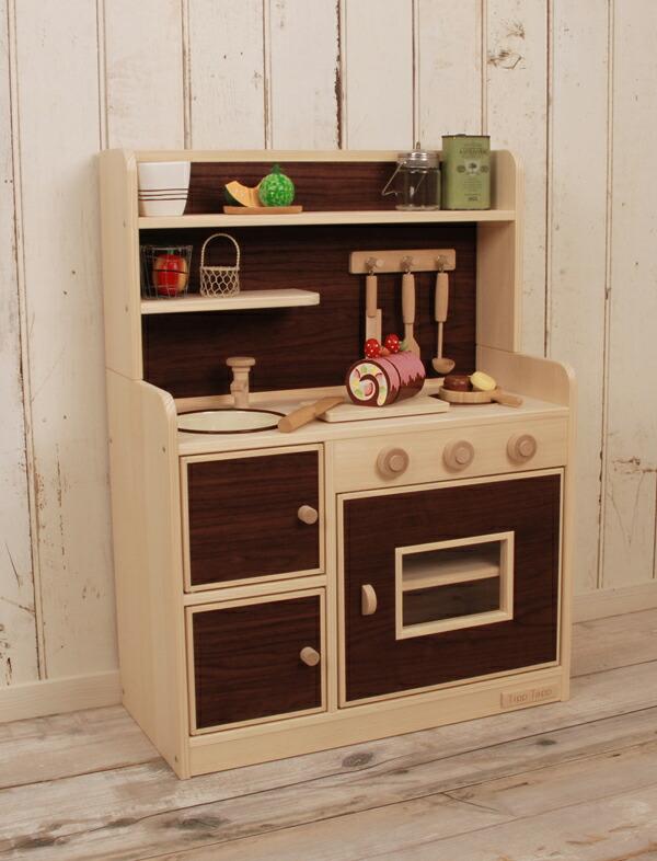 キッチン 木製キッチン : !木製 ままごと キッチン ...