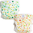 Baby diaper カバーバブル pattern one piece 70・80-90 sizes (kids/baby / babies / newborns / toilet / diapers / diaper cover / diaper covers / cloth diaper cover / made in Japan / cotton 100% / children's clothing)
