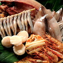 Hokkaido seafood products variety set REI statement open Hock 500 g how overnight 2 tail pieces シシャモメス 10 tails frozen scallops 500 g spot prawns 500 g crab shell height 110 g x 2