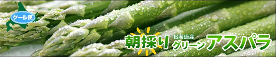 北海道産/野菜/アスパラ/送料無料