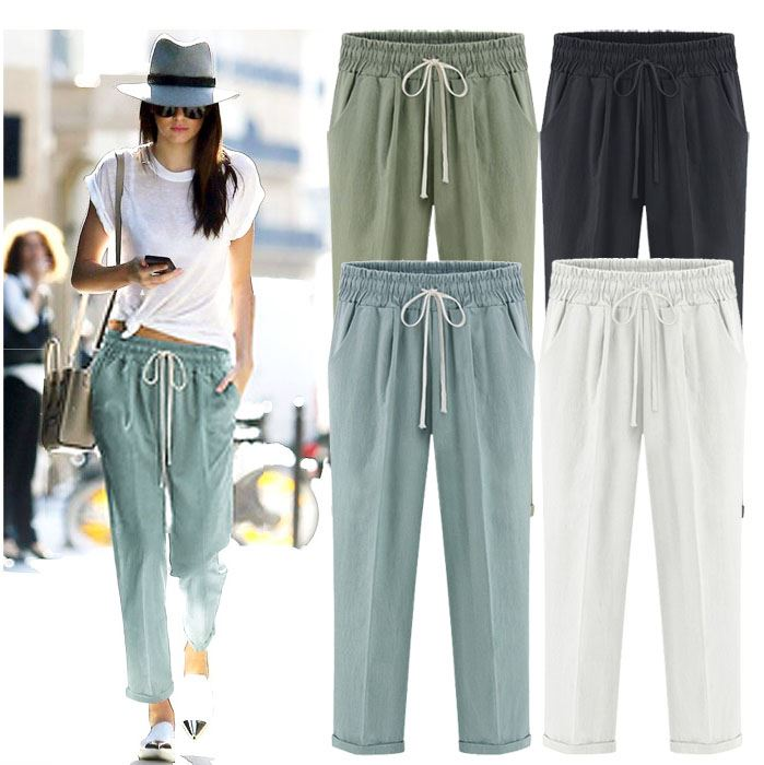 Holic | Rakuten Global Market: Its thong Pocket linen long pants ...