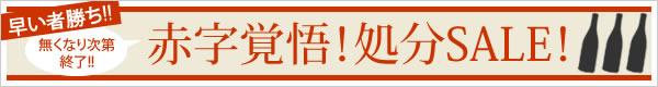 赤字覚悟!処分SALE!