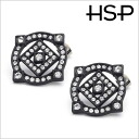 Big impact Hall hypoallergenic titanium earrings (1 pair) auktn