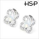 Square x flower hypoallergenic titanium earrings (1 pair) auktn! fs2gm