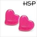 Crash heart earrings (1 pair) auktn!