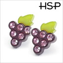 Rose Joel grape earrings (1 pair) auktn