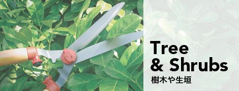 WOLF Gartenの庭木の手入れや生垣のケアの道具