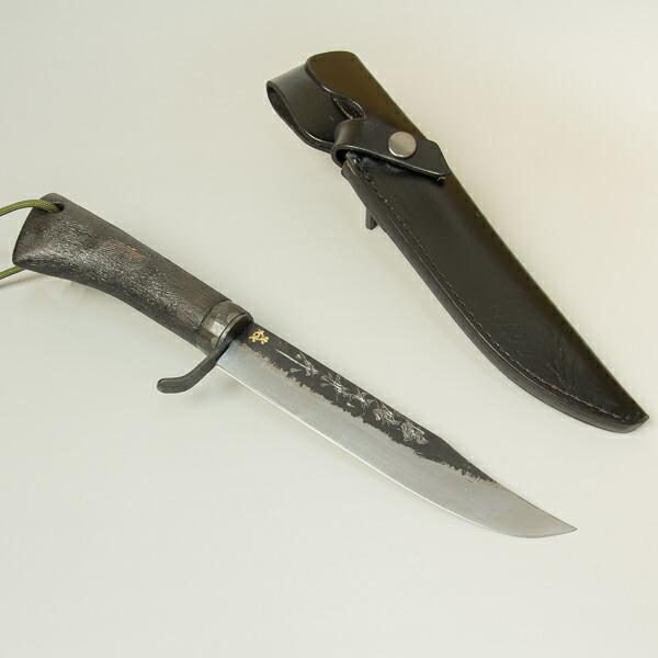 黒樫柄剣鉈