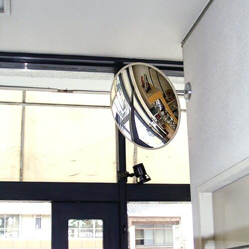 防犯ミラー・店舗内ミラー・業務用ミラー・安全ミラー。店舗や玄関エントランスに。安心と安全を確保します。