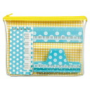 Original pouch with the lessons set dots blue SKG84LKBBU note ruler & clip gift recommendations! Nakano /NAKANO