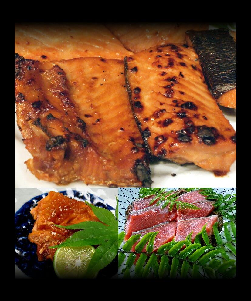 銀毛秋鮭の味噌漬け
