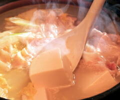 豚肉と豆腐の鍋