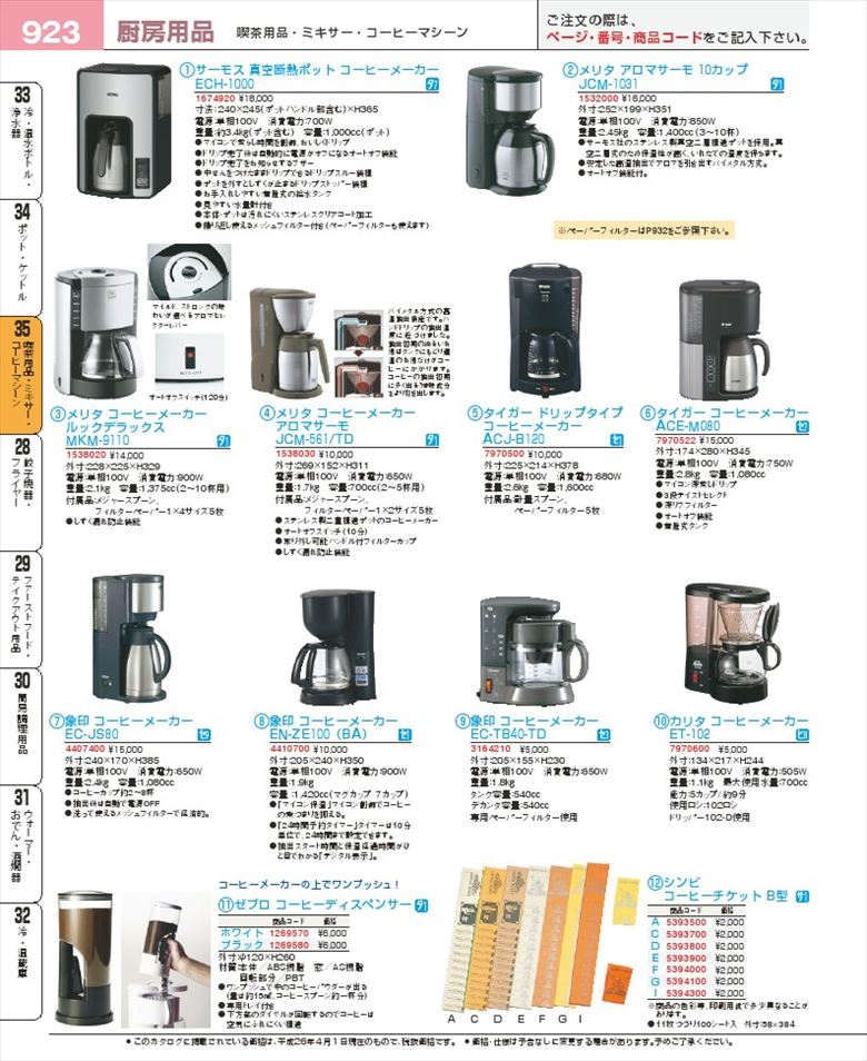 coffee vending machine spare parts