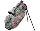 2 ■ Scotty Cameron stand bag 2012 Milled Putters - Camo & Pink 9-inch stand bag