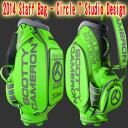 2 2014 ■ Titleist Scottie Cameron staff bag Circle T Studio Design - Lime / Titleist Scottie Cameron caddie bags