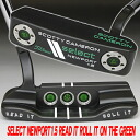 2 1.5 2 35 inches of ■ Scottie Cameron select Newport go getter Read It Roll It on the Green on-site translation in & 3 francs JAPAN LINE lime / black MID grip custom putters