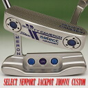 2 ■ Scotty Cameron 2014 select Newport jackpot Johnny stamp pistoleros peralto purple grip 34 incicastampatter