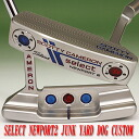 2 ■ Scotty Cameron 2014 select Newport 2 junkyard dog stamp white / red MID grip 34 incicastampatter