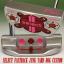 2 ■ Scotty Cameron 2014 select fastback junkyard dog stamp pistoleros Bubblegum pink grip 33 incicastampatter