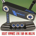 2 ■ Scotty Cameron 2012 select Newport 2 junkyard dog rolling stamp pistoleros blue Bayou grip 34 incicastampatter