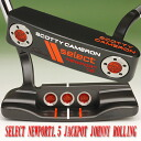 2 ■ Scotty Cameron 2012 select Newport 1.5 jackpot Johnny rolling stamp 3 flange line pistoleros orange peel grip 33 incicastampatter