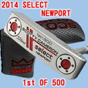 2 2014 500 34 inches of ■ Scottie Cameron select Newport 1st of putter / Titleist Scottie Cameron first run putters