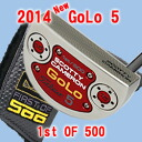 2 2014 5 500 34 inches of ■ Scottie Cameron GoLo 1st of putter / Titleist Scottie Cameron first run putters