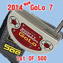 2 2014 7 500 34 inches of ■ Scottie Cameron GoLo 1st of putter / Titleist Scottie Cameron first run putters