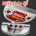 2 ■ Scotty Cameron 2014 GOLO S5 putter, Titleist Scotty Cameron putters