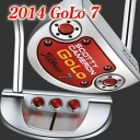 2 ■ Scotty Cameron 2014 GOLO 7 putter, Titleist Scotty Cameron putters