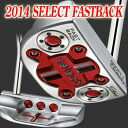 2 ■ Scotty Cameron 2014 select fastback 34-inch putter, Titleist Scotty Cameron first RAM putter