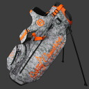 2 ■ Scotty Cameron stand bag 2013 Pinflag-Digital Camo & Orange 9-inch stand bag