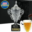 4 ■ crystal trophy beer mugs (present golf competition championship premium prize)