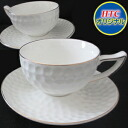 4 two sets of ■ golf ball teacup sets (golf miscellaneous goods tableware wedding ceremony present present competition prize premium)