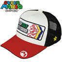 4 ■ Super Mario /SUPER MARIO Golf Cap ( main white hat golf equipment competition prize giveaway gift )
