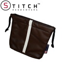 5 ■ TEMGSTP2 brown leather Golf pouch