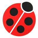 Mouse pad (Pat) Ladybug high tide /HIGHTIDE