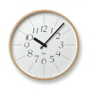 Lemnos TAKATA Lemnos Riki Clock WR-0312 L interiors, furniture, storage wall clock and other