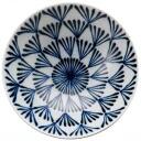 Hakusan ceramics Masahiro Mori design flat bowl P-8 rice bowl ceramics rice bowl