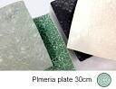 SALE 50 Sierra Jenggala Bali sweets plumeria shallow Bowl 30 cm PC-0006 Western instrument earthenware square plates