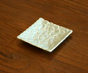 Jenggala Bali sweets plumeria shallow bowls white 10 cm Western instrument earthenware square plate RO-1150