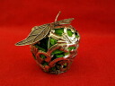 HUG select Christmas ornament silver fruit potpourri apple