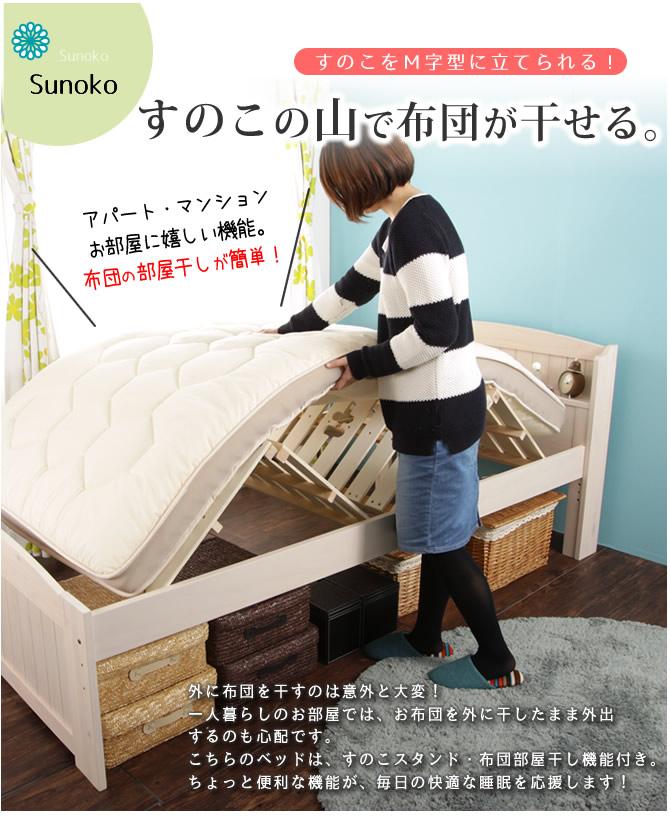 布団の部屋干し布団で使えるベッド