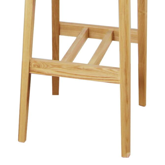 天然木製 ハイチェア カムイ