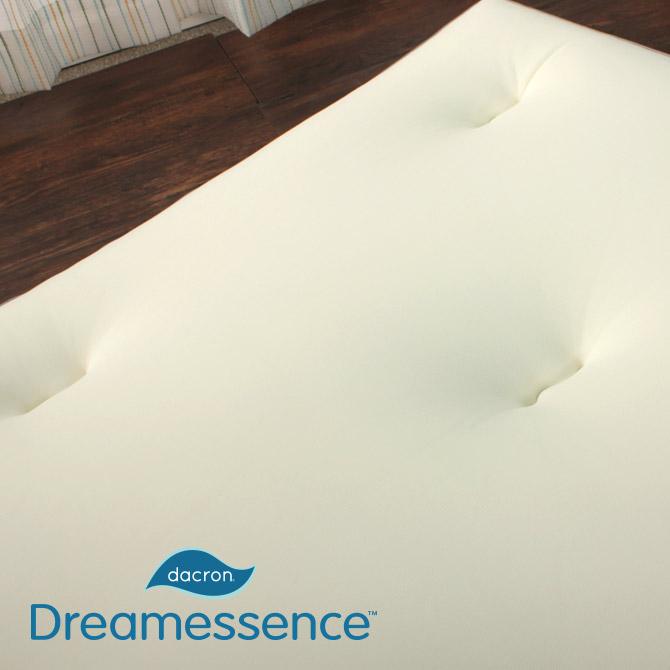 敷き布団 やわ肌トッパー シングル インビスタ社・ダクロン「ドリームエッセンス」中綿採用