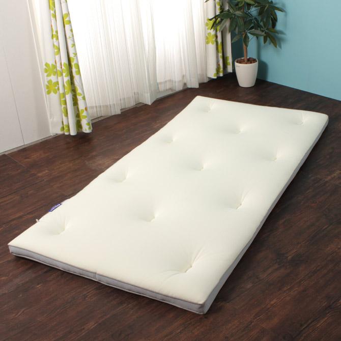 敷き布団 やわ肌トッパー シングル もちろん床に敷いて敷き布団としても