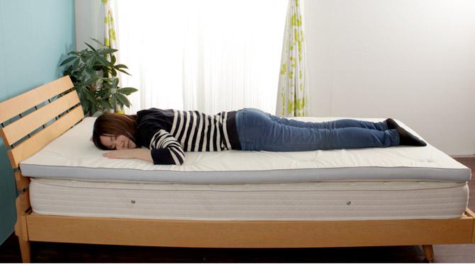 敷き布団 やわ肌トッパー シングル 寝返りがしやすい適度な硬さを兼ね備えた敷ふとん
